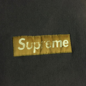 1995 Supreme Gold Nylon Box Logo Crewneck