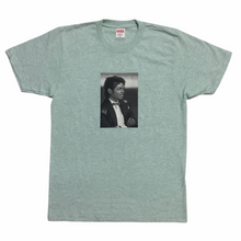 Load image into Gallery viewer, 2017 Supreme Michael Jackson Aqua Blue Graphic Tee