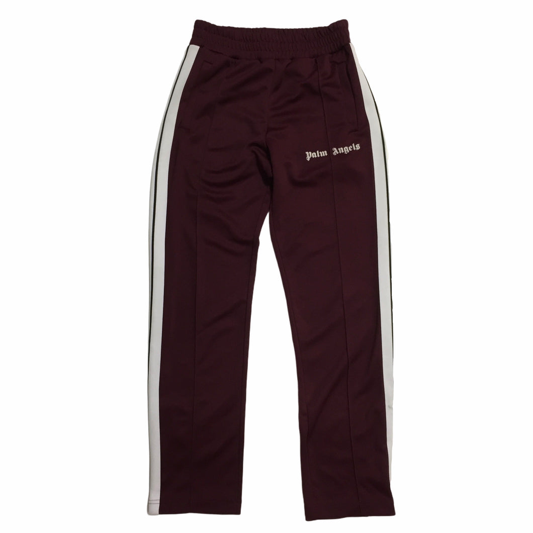 Palm Angels Burgundy Trackpants