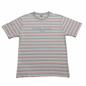 Guess x ASAP Cotton Candy Pink Blue T-Shirt