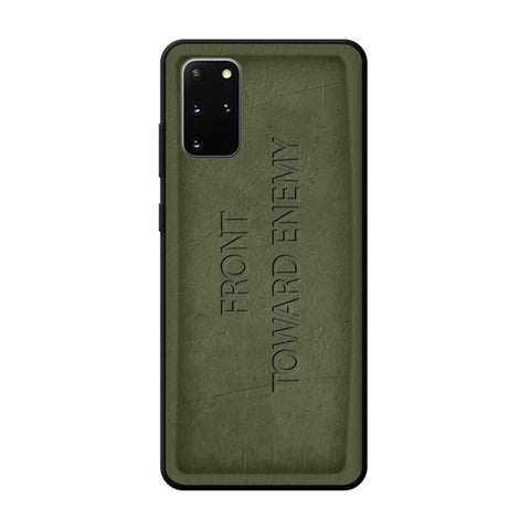 Claymore-Front-Toward-Enemy-Samsung-Galaxy-S20-Plus-Case