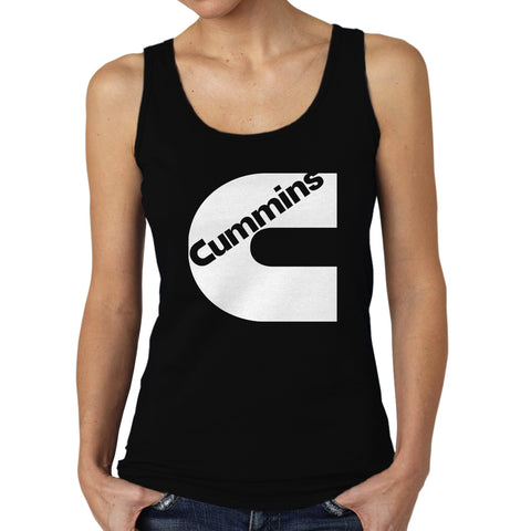 cummins-logo-women's-tank-top