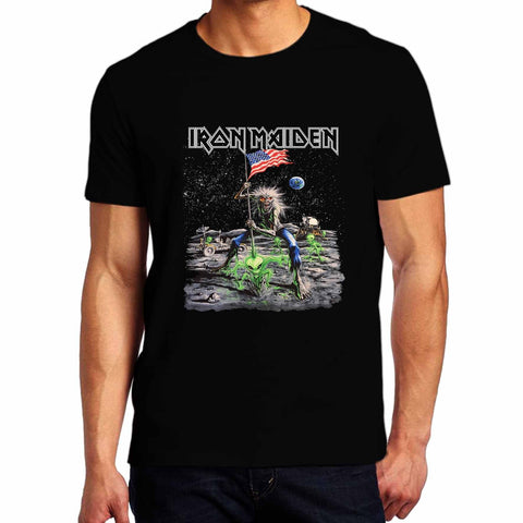 Iron-Maiden-Rock-Metal-Band-5-Mens-Gildan-Tshirt