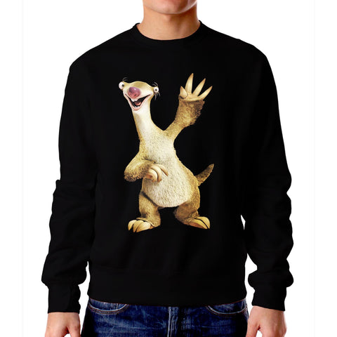 Sid-The-Sloth-Ice-Age-Unisex-Crewneck-Sweater