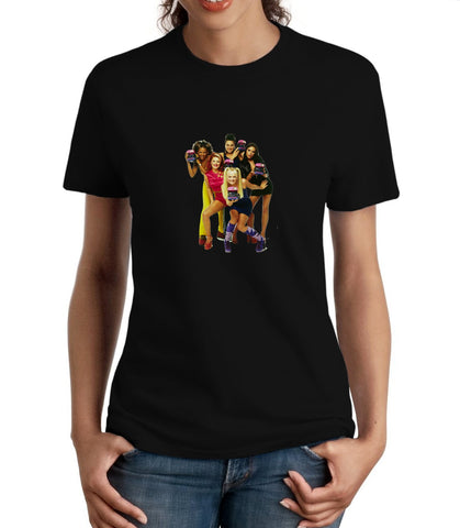 Spice-Girls-1-Womens-Gildan-Tshirt