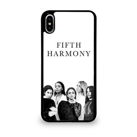 Fifth-Harmony-Black-White-iPhone-XS-Max-Case
