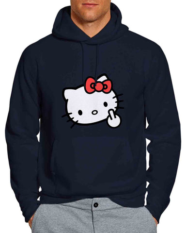 hello-kitty-middle-finger-navy-unisex-hoodie