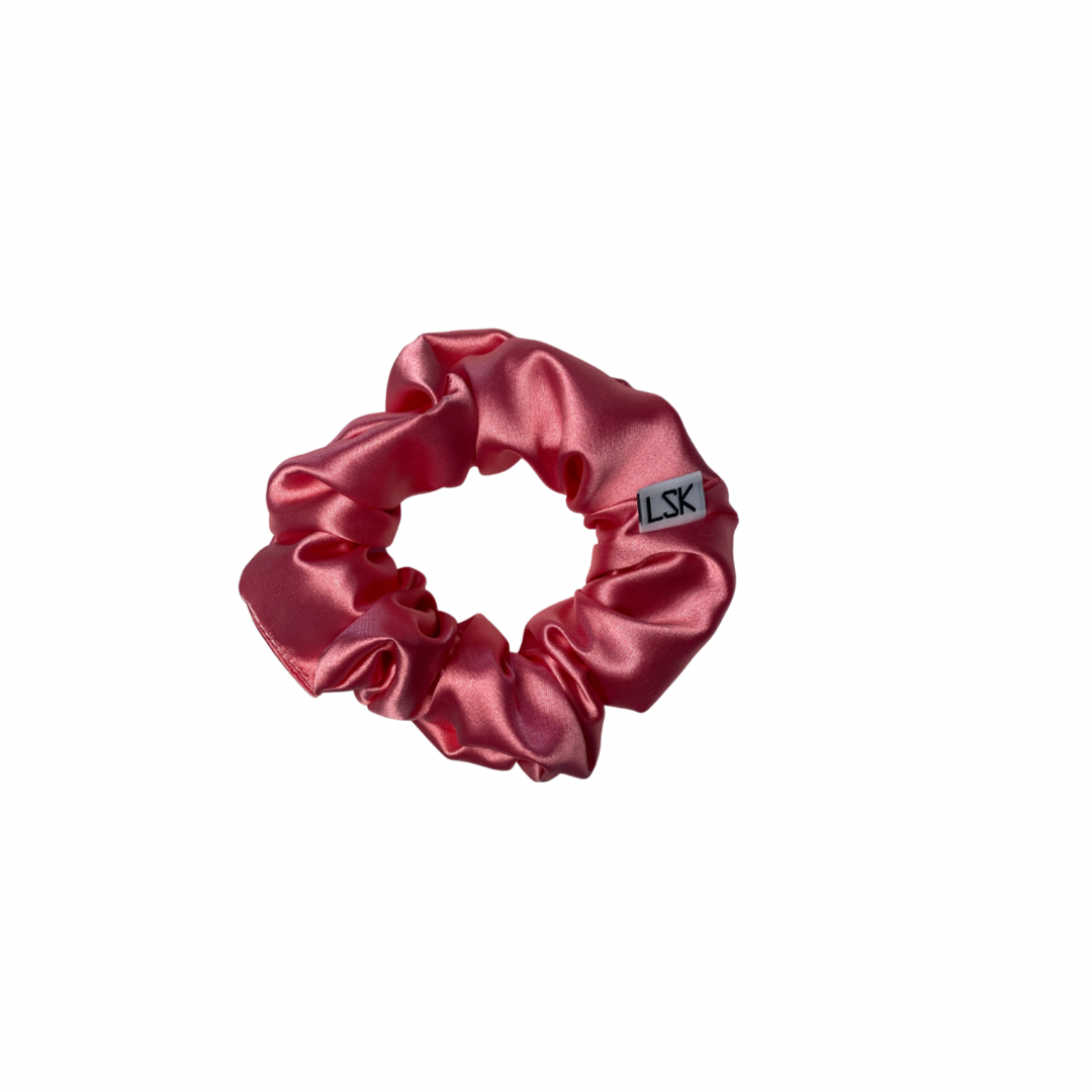 Watermelon Silk Scrunchie