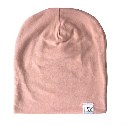 Mellow Rose Bamboo Adult Slouchy Beanie