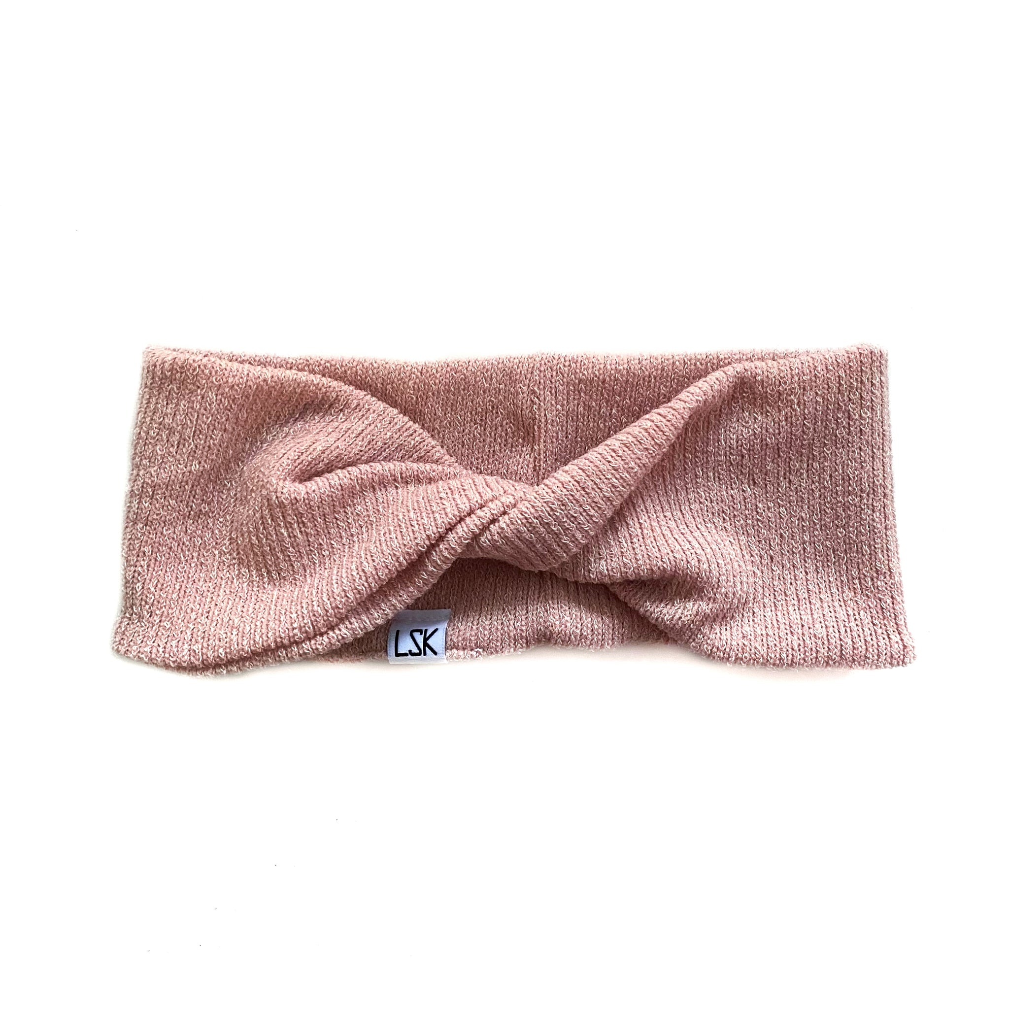 Lush Blush Cozy Sweater Twistband