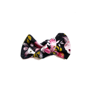 Midnight Floral Bow Add On