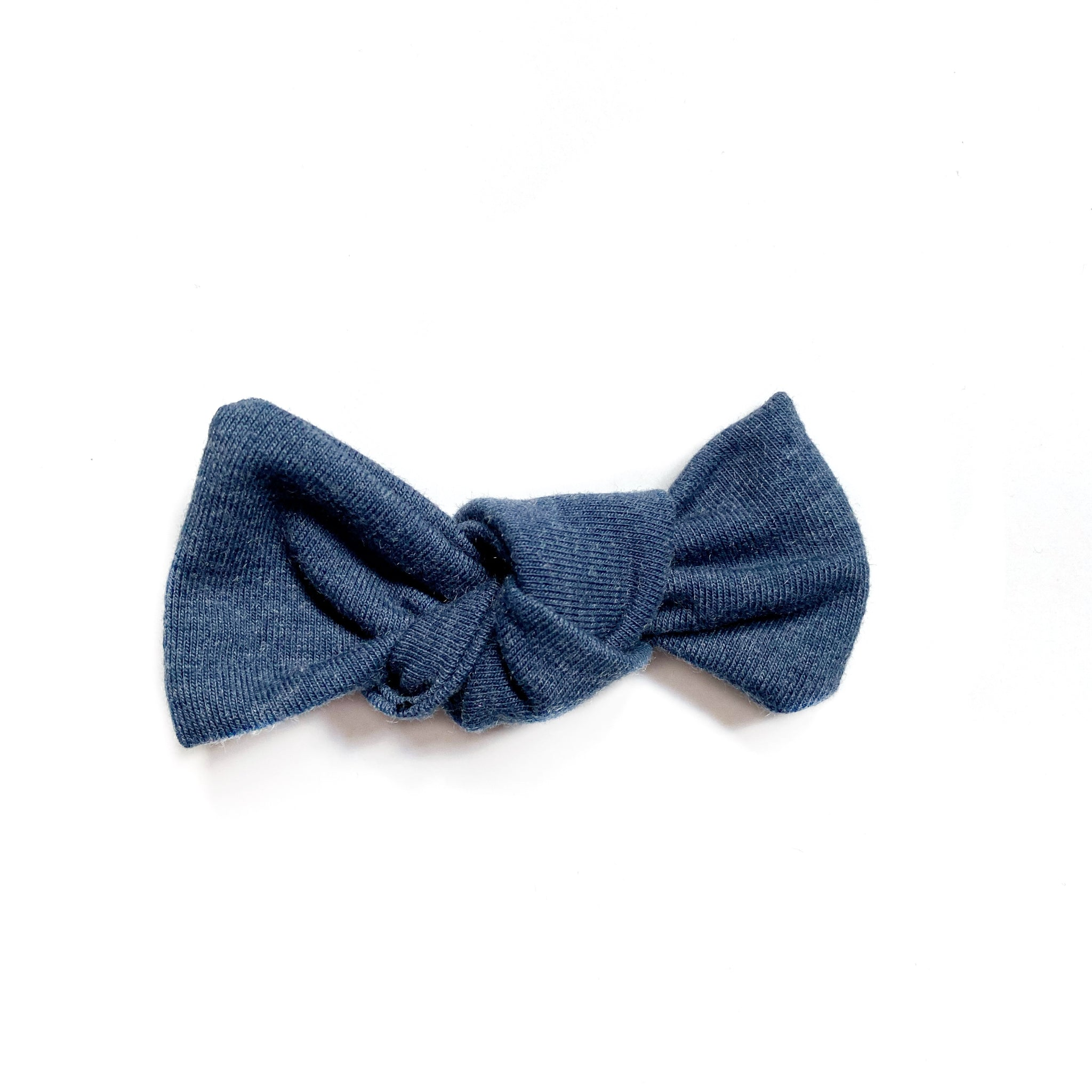 Denim Bow Add On