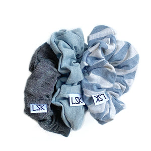 All about Linens Scrunchie Set