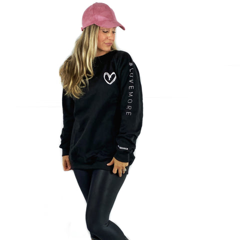 Tunic #LOVEMORE Love Squared Signature Crewneck.