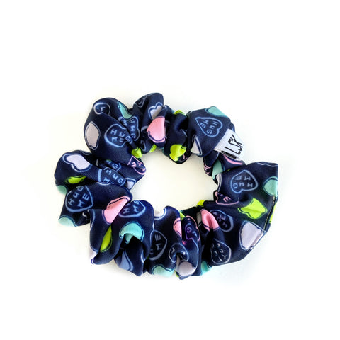 Hug Me Long Time LUXE SWIM Scrunchie