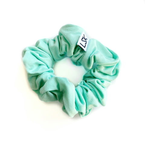 Light Aqua Scrunchie