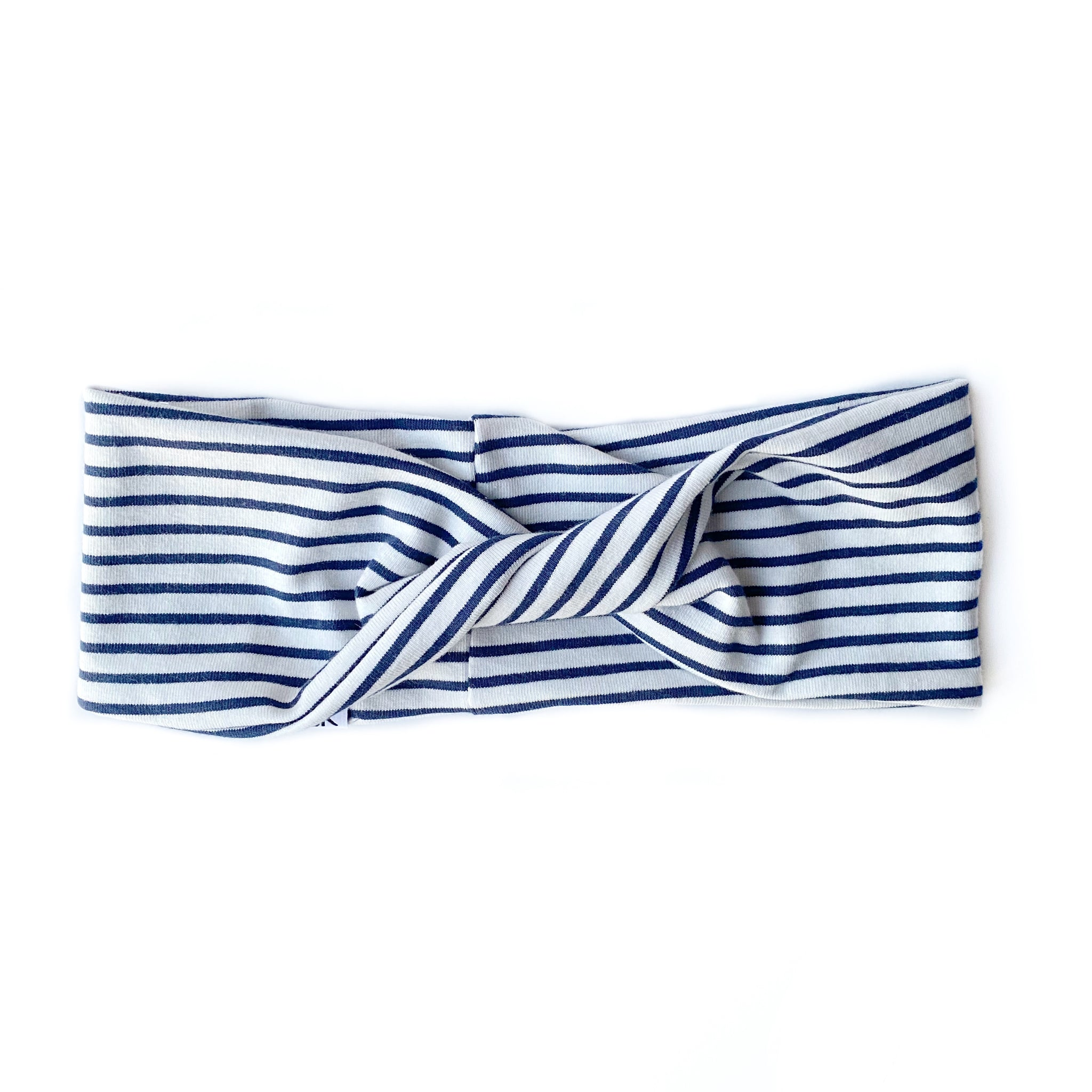 Navy Stripe Twistband