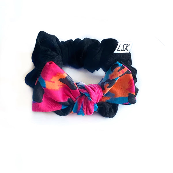 Rose Leopard Bow Add On