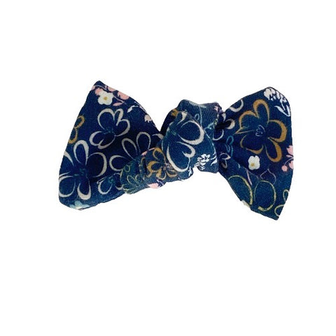 Flowering Navy Bow Add On