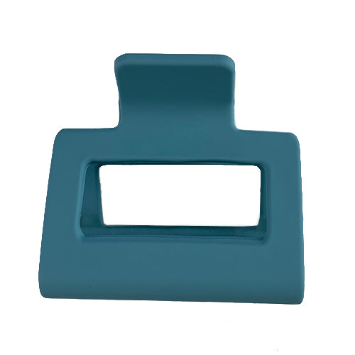 Matte Teal Claw Clip - Small
