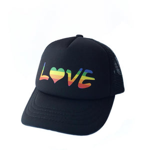 Rainbow Love Trucker Hat