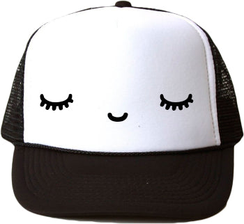 Sleepy Eyes Trucker Hat