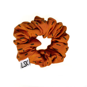 Rust dash Scrunchie