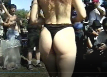 Load image into Gallery viewer, Flashing girls  - nude festival celebration exhibitionism video