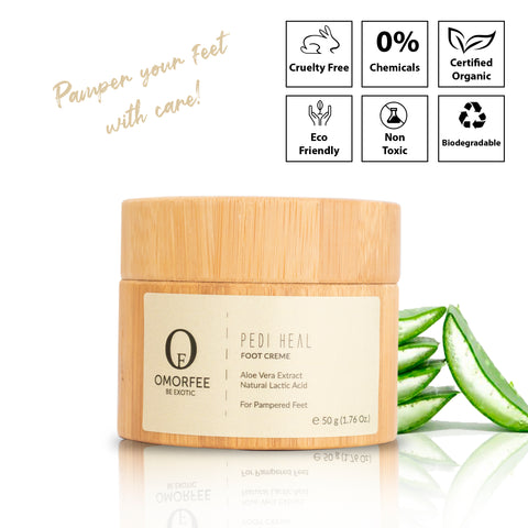 omorfee-pediheal-foot-creme-vegan-skincare-products-cruelty-free-skincare-foot-cream-cracked-heel-cream-foot-crack-cream