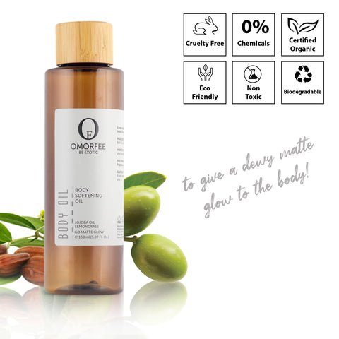 omorfee-body-softening-oil-vegan-skincare-products-cruelty-free-skincare-body-oil-after-shower-body-oil