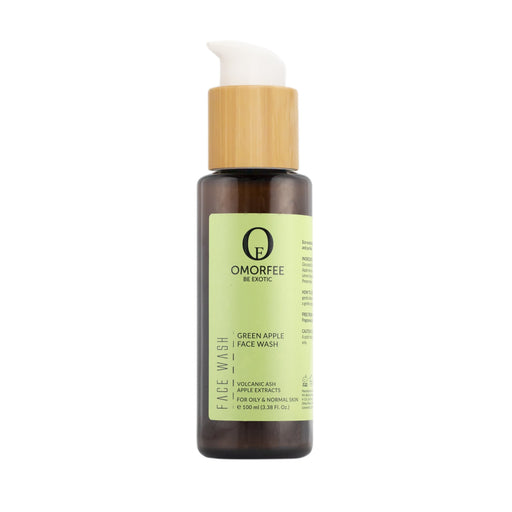Omorfee 100% Organic Face Wash for Oily Skin. Best face wash for face acne. Anti-acne wash. Oil control face wash.