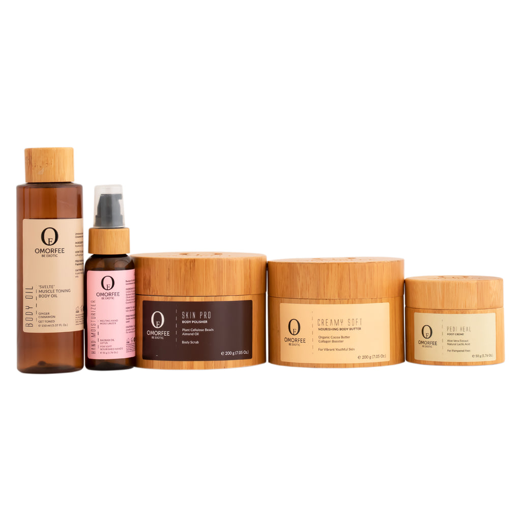 omorfee-body-care-pre-wedding-essential-kit-organic-skin-care-organic-skincare-body-oil-hand-moisturizer