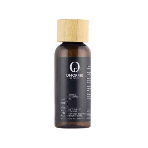 Omorfee Organic and Natural Beard Oil for Smooth and Soft Beard and Moustache. Daily Beard Oil best for well groomed beard. Dense beard and growth and nourished beard.