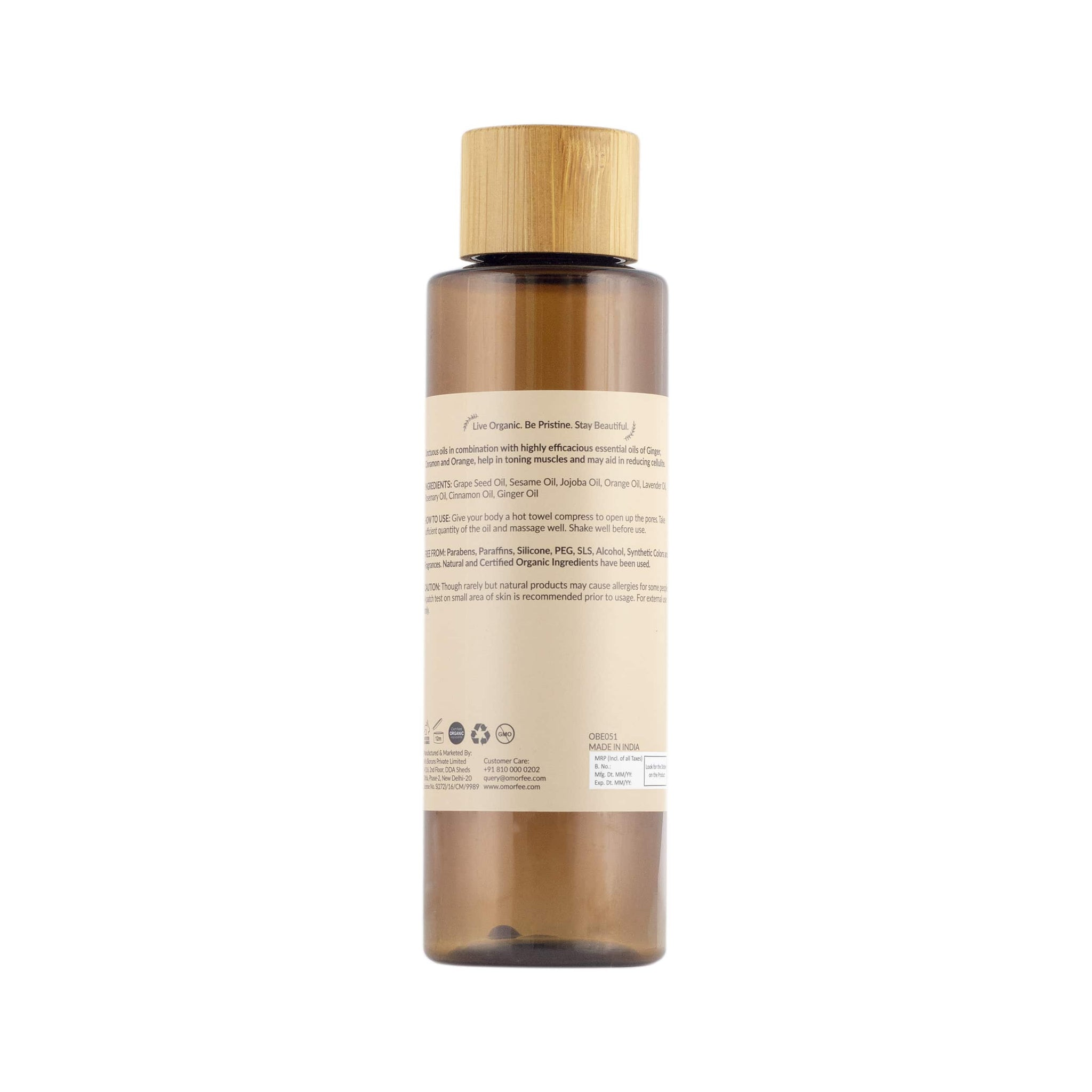 Svelte Muscle Toning Body Massage Oil