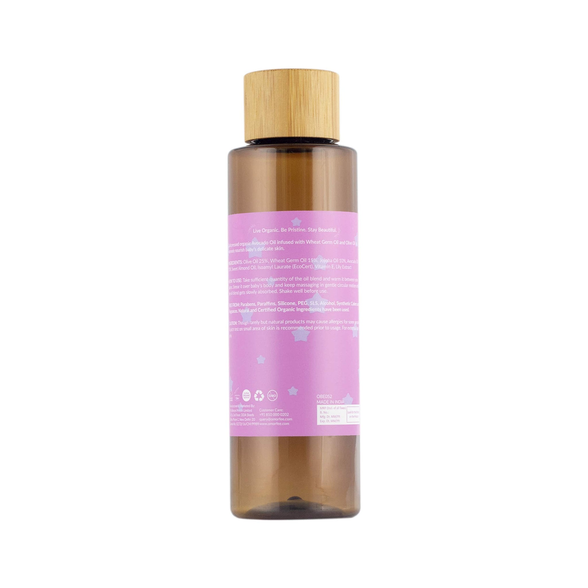 Bloom Baby Massage Oil
