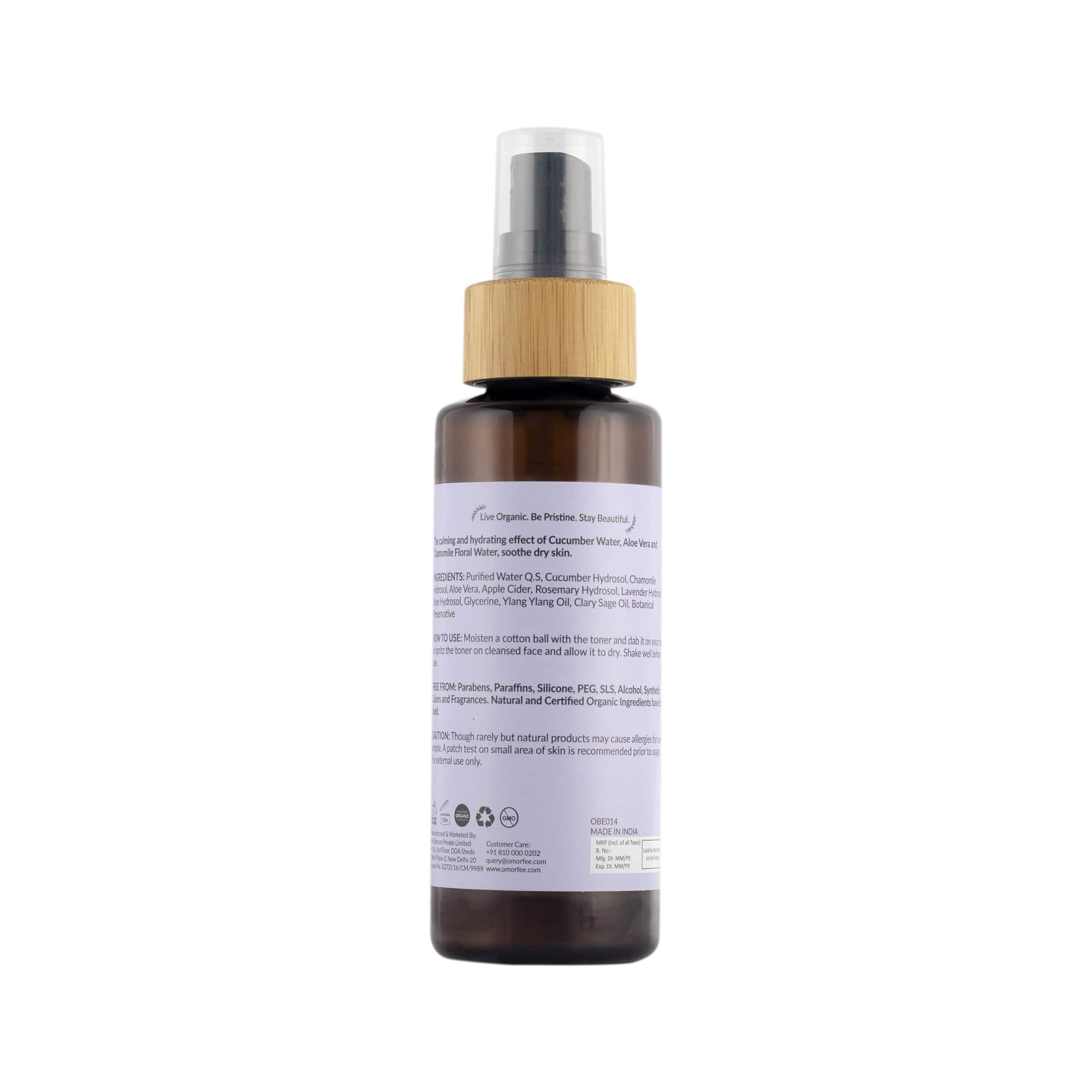 Placid Water Face Toner