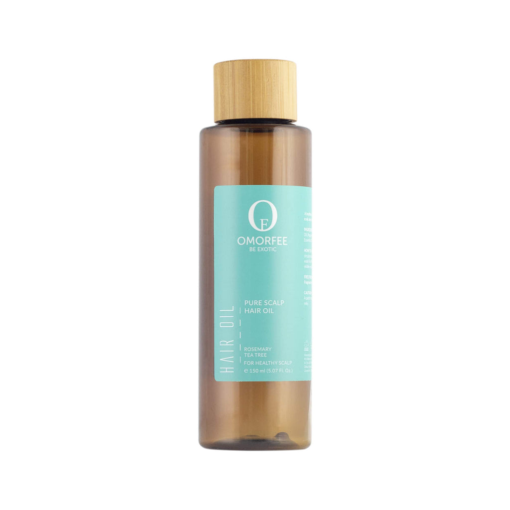 Omorfee 100% Organic and all natural treatment hair oil for dandruff. Anti-Dandruff Hair oil that protects against hair fall and hair bacteria. It improves scalp health.