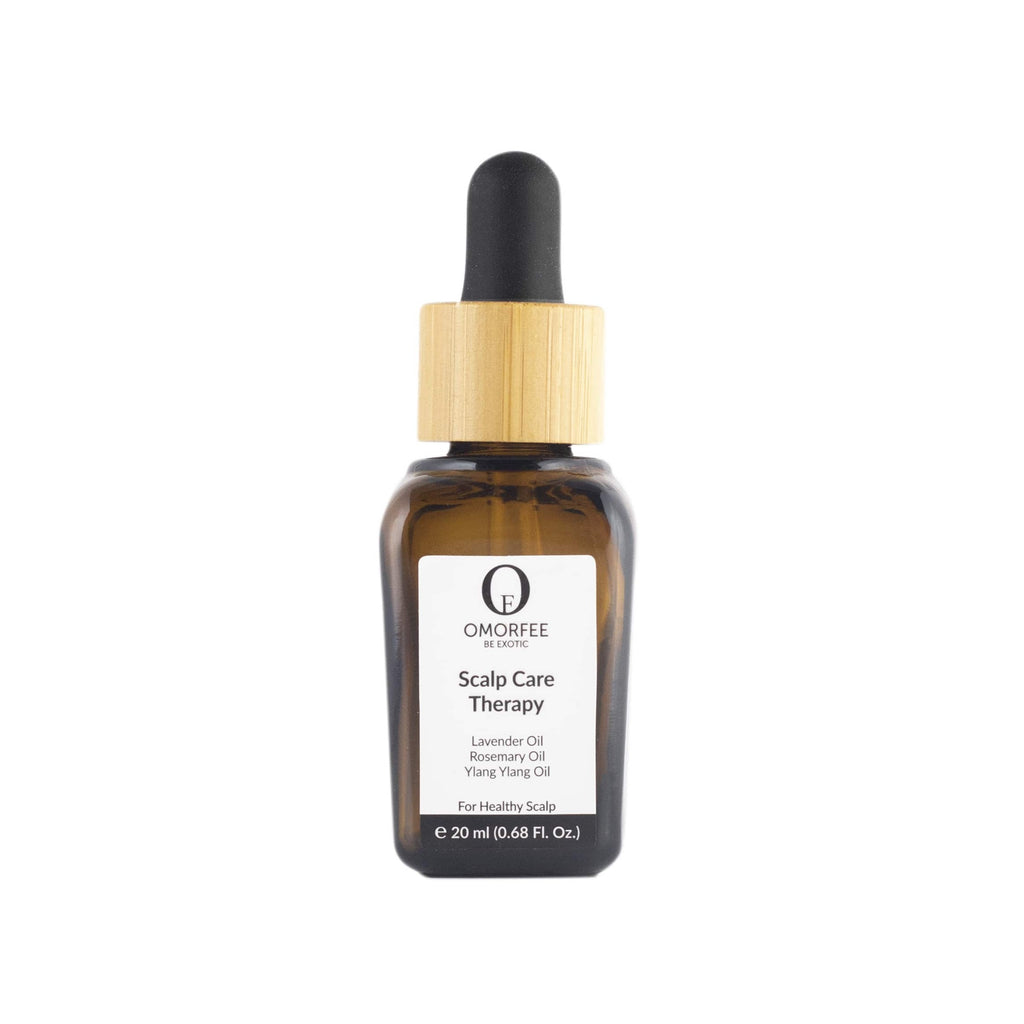 Omorfee pure essential oil for Hair growth, Hair thickening and Hair Damage. Essential oil for Scalp dryness damage. 100% pure Hair essential Oil.
