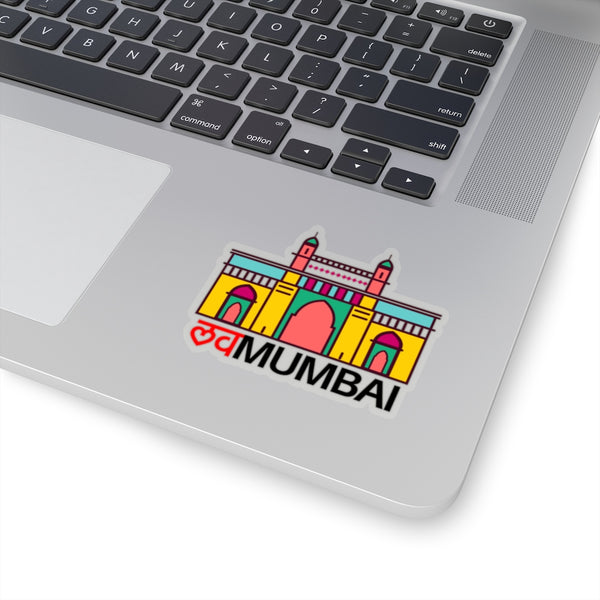 Love Mumbai Hindi - Sticker - By Dosa