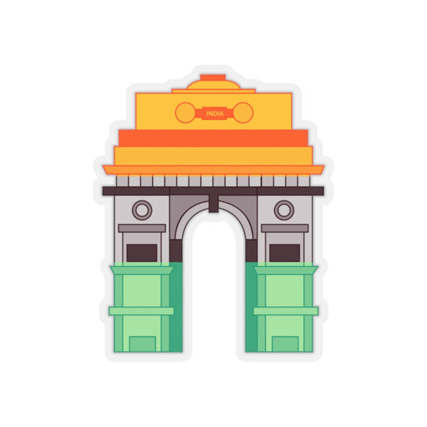 India Gate - Sticker - By Dosa