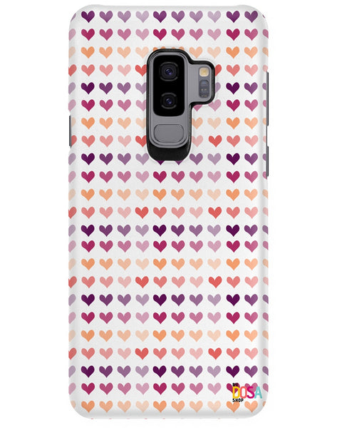 Light Heart Mix Pattern - Phone Case (IPhone and Samsung) - By Dosa