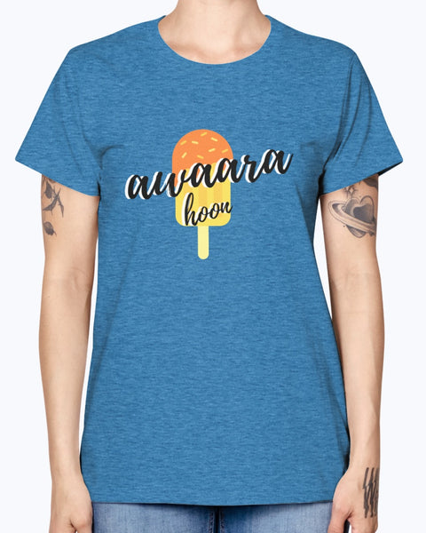 Awaara Hoon - Men's TShirt  - By Dosa