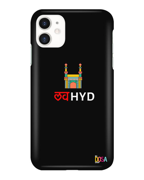 Love Hyd In Black - Phone Case (IPhone and Samsung) - By Dosa