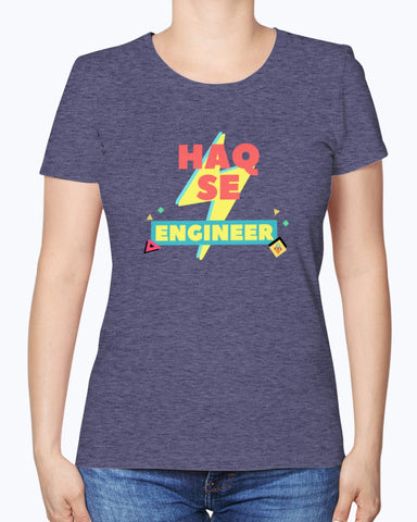 Haq Se Engineer - Women's T-Shirt - By Dosa