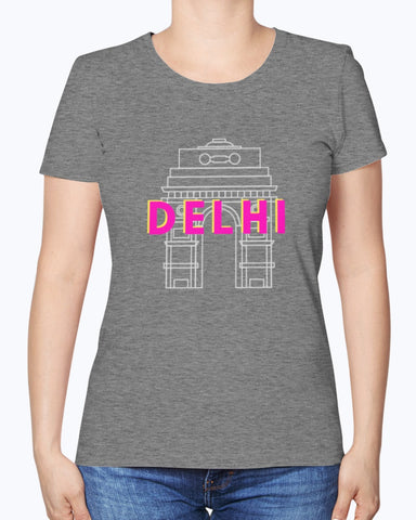 Delhi - Women's T-Shirt - By Dosa