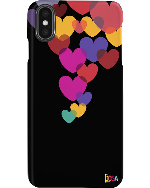 Love In Air Black - Phone Case (IPhone and Samsung) - By Dosa