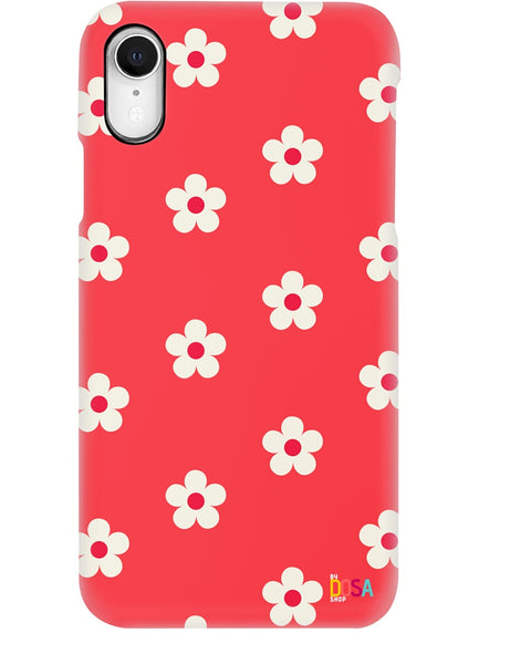 Flowers In Red - Phone Case (IPhone and Samsung) - By Dosa