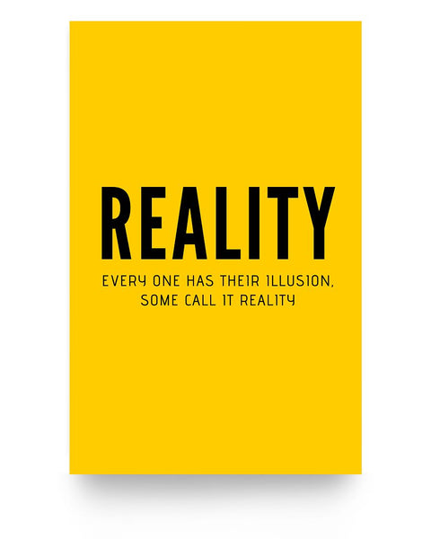 Poster - Reality - Inspire by Dosa