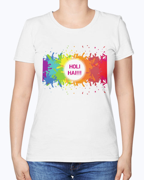 Holi Hai!! - Women's T-Shirt - By Dosa