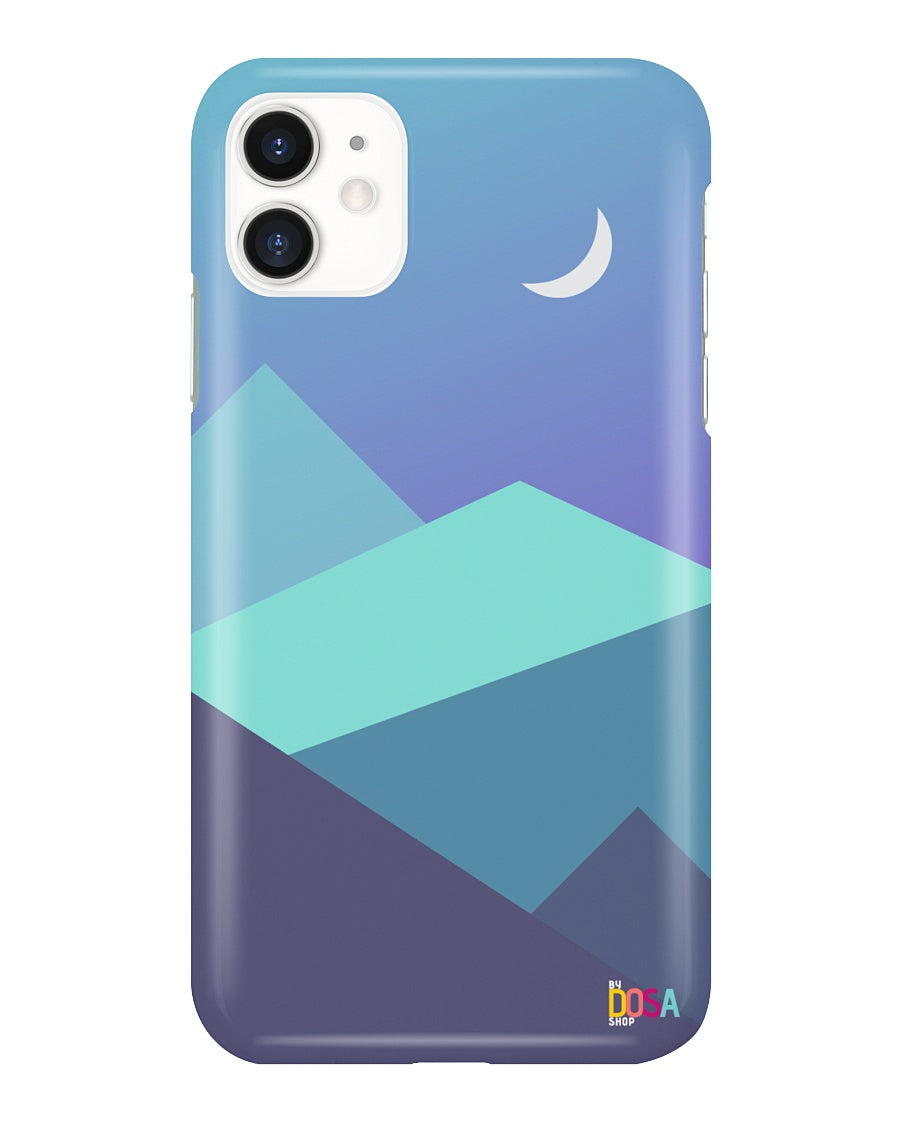 Moon In Hills - Phone Case (IPhone and Samsung) - By Dosa